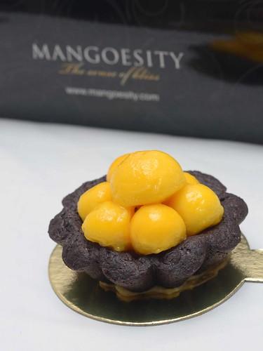 Mango Chocolate Tart - $3.80