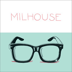 Single Milhouse (Gabriel Gianordoli) Tags: music illustration cd cover