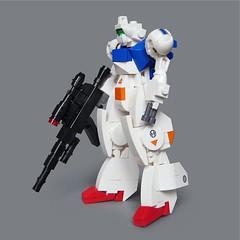 Kyōshu KX-7 (Fredoichi) Tags: toy robot lego space military micro mecha mech microscale fredoichi gundamish