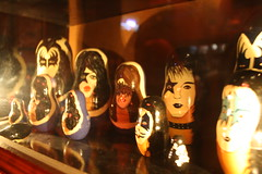 KISS matroshka dolls