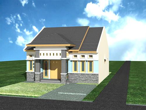 Rumah Minimalis Pluit Sakti