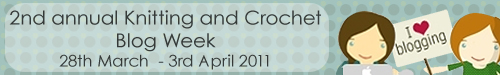 Join in with Knitting and Crochet Blog Week 2011