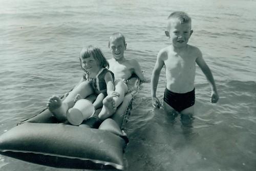 Valerie, Roderick and Glenn McCreath 1963