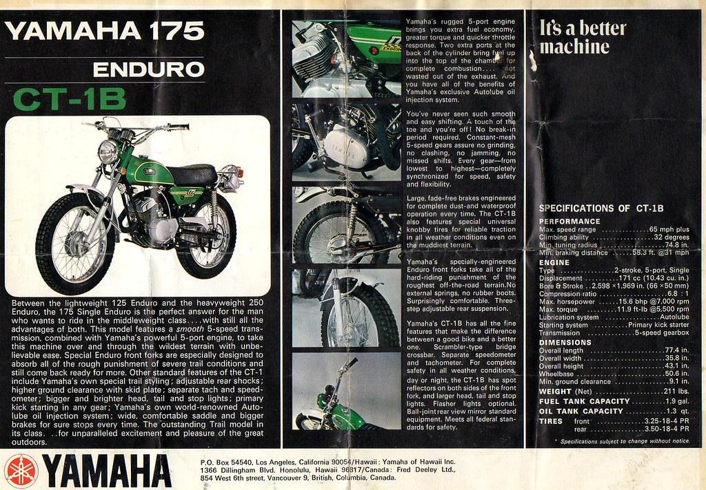 Yamaha 175 Enduro