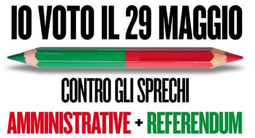 REFERENDUM. DOTTORINI (IDV): IL 29 MAGGIO ELECTION DAY PER  FERMARE   NUCLEARE,  PRIVATIZZAZIONE DELL'ACQUA E  LEGITTIMO IMPEDIMENTO.