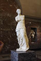 Venus de Milo (davepatten) Tags: woman white paris broken statue museum de ancient venus louvre milo armless damaged