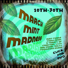 March Mint Madness Poster