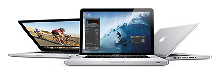 Apple's revamped MacBook Pro family of products