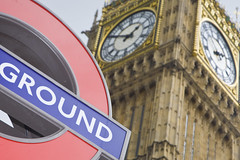 London (Alex Bramwell) Tags: travel abstract london clock sign underground bigben clocktower ststephenstower