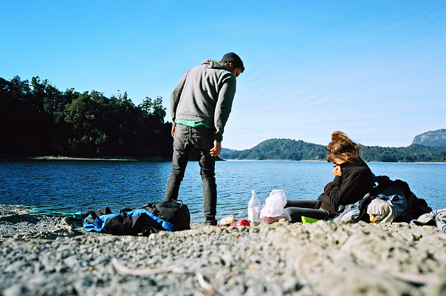 lake waikaremoana lunch break