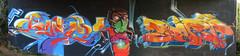 Matz x Sart (Sart One) Tags: blue orange black yellow wall graffiti puppet character halloffame catanzaro