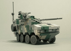 XA-385 Tulwar HCW (Aleksander Stein) Tags: infantry tank lego military air destroyer modular vehicle fighting defence patria armoured ndc amv tulwar ifv mcvs xa380