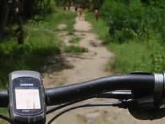 Mountain biking, Timor (Indo Pilot) Tags: mountain bike indonesia trail edge biking gps timor garmin 305