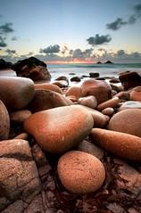 Porth Nanven, Cornwall (midlander1231) Tags: sunset sea england sky seascape beach nature clouds canon landscape coast rocks cornwall shore coastline porthnanven canon5dmarkii