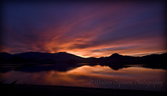 ~ Dazzling Radiance ~ (~ Western Dreamer ~) Tags: sunset lake nature northerncalifornia reflections twilight sunsets siskiyoucounty weedca lakeshastina lakereflections westerndreamer mountainsunsets westerncapturescom westerncapturesphotography photocontesttnc11 californiatnc11