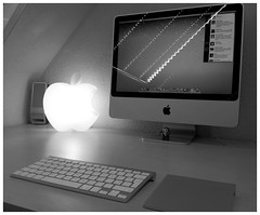 Apple Logo Lamp (purplelime) Tags: