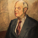 "<b>Karl Theodor Jacobsen</b><br/> Fridtjof Schroder (oil, ca. 1941-1943) LFAC #057 <a href=""http://farm6.static.flickr.com/5295/5490774806_531d09364d_o.jpg"" title=""High res"">∝</a>"