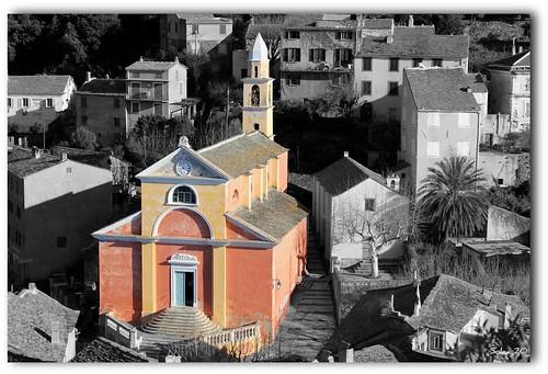 Côte Ouest du Cap Corse, le beau village de Nonza