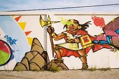 Maya (Benisfree) Tags: street streetart france film 35mm graffiti kodak bordeaux portra yashica graffe yashica35gt yashicaelectro35gt