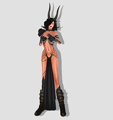 Ezura Dragon Slayer (dagmar haiku) Tags: life fashion women style womens sl secondlife second ezura