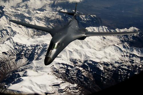 フリー写真素材, 乗り物, 航空機, 爆撃機, B- ランサー, アメリカ空軍,