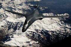 [フリー画像] 乗り物, 航空機, 爆撃機, B-1 ランサー, アメリカ空軍, 201103052300