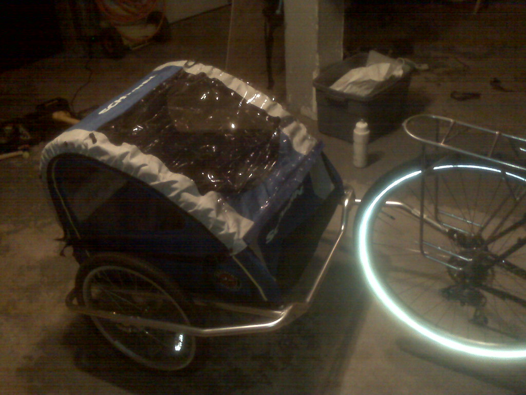 Converted Bike Trailer