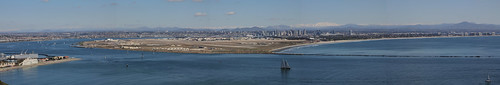 San Diego Panoramic - from Cabrillo