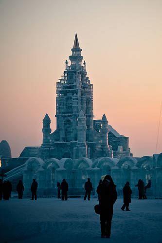 Ice and Snow World in Harbin (哈尔滨)