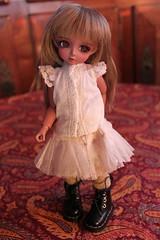 CB Amy (Gone) (Anzu's Bears) Tags: doll amy tan bjd ciaobella balljointeddoll yosd bambicrony bambicronyamy