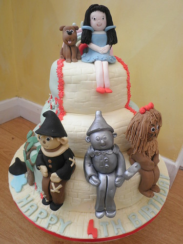 wizard of oz cake cakeebakey