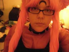 Black Lady sneak peek (melodystarlight) Tags: cosplay sailormoon blacklady wickedlady