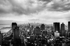 dark city (nosha) Tags: beautiful beauty photography nikon wideangle tokina lightroom d300 2011 nosha newyorknewyorkusa 1116mm nikond300 1116mmf28