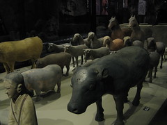 Terracotta animals (TinaOo) Tags: horse animals pig cow sheep terracotta