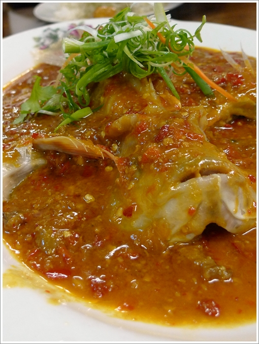 Steamed Tilapia with Bean Sauce