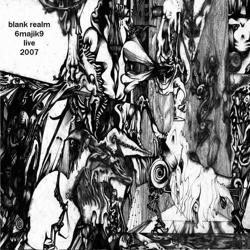 Blank Realm/6majik9 - Live 2007 (front)