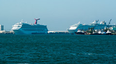 Galveston Cruise ships