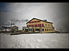 Hotel Restaurant Schwarzsee 2583 m in Winter 2011. February 27. no.913 (Izakigur) Tags: mountains alps liberty schweiz switzerland nikon europa europe flickr suisse suiza swiss feel zermatt matterhorn d200 helvetia nikkor svizzera wallis lepetitprince ch valais dieschweiz  sussa suizo  myswitzerland lasuisse nikond200 nikkor1755f28    svislando izakigur  suisia laventuresuisse izakiguralps  izakigur2011 izakigurzermatt
