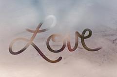 Looooveee [Explored!] (Shandi-lee) Tags: love window writing handwriting naturallight cursive fingerwriting writingonwindow writingoffoggywindow