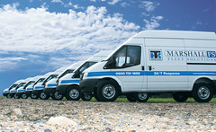 Marshall Fleet Solution multiple vans