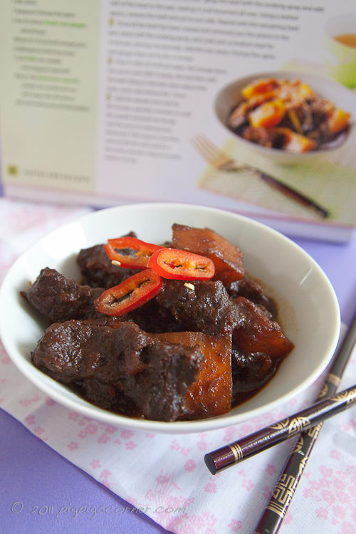 oriental beef with butter squash