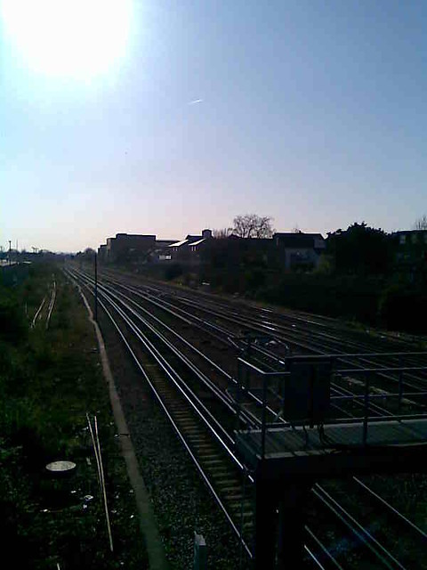 train tracks wimbledon