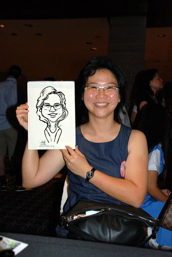 Caricature live sketching for Swire Pacific Offshore & The China Navigation Company Pte Ltd Annual D&D - 7