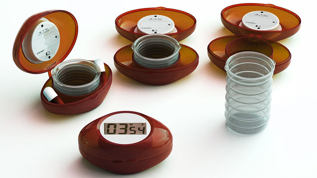 Pill Case with Timer