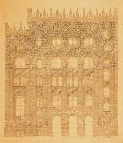 Plan Facade Michelet