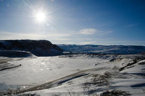 Sand Plain near Kangerlussuaq, Greenland by Ole G.