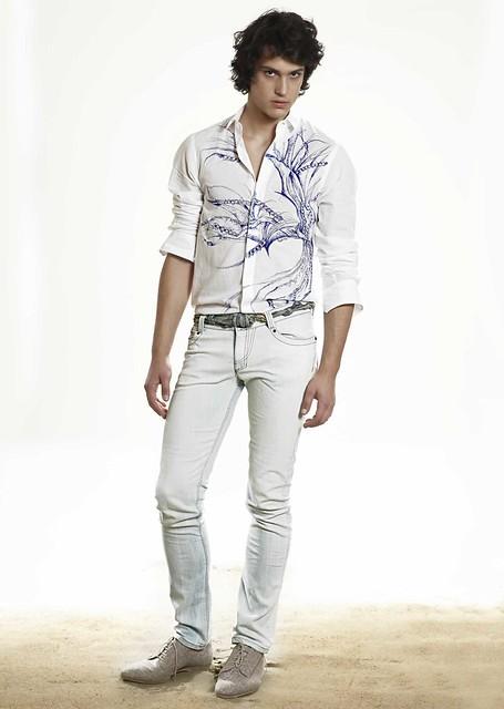 Gerrit Kramer0055_Byblos SS11 Lookbook(Homme Model)