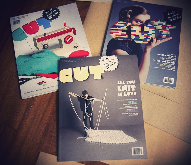 CUT Magazine DIY crafts