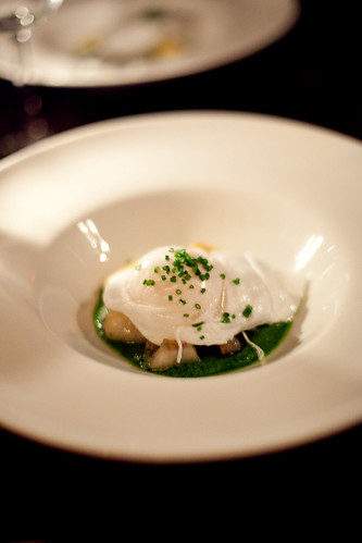 hotel griffou - organic poached egg