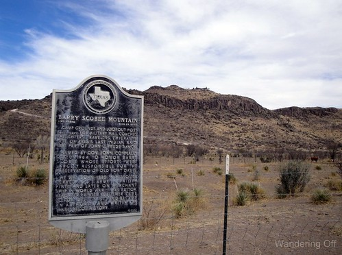 Historical Marker, West Texas